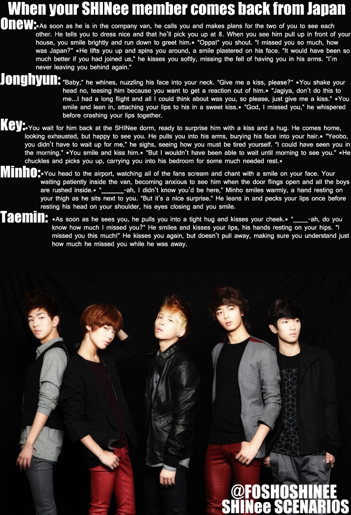 1000  images about shinee scenarios on Pinterest | Shinee, Kpop ...